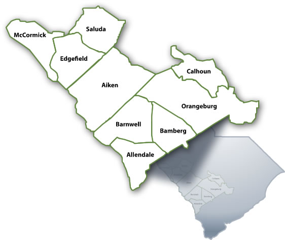 Center's Map